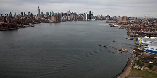 Il waterfront di New York