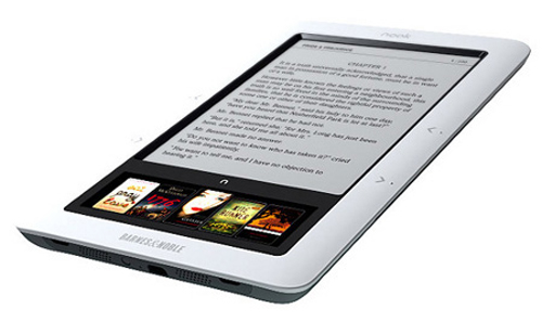 L'eBook reader Nook