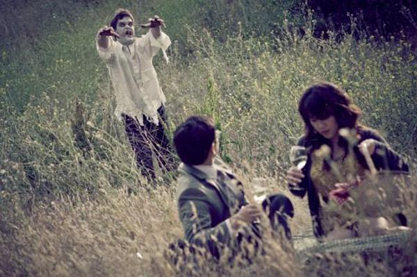 L'album di nozze con gli zombie