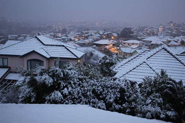 Neve in Nuova Zelanda