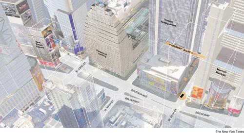 L'infografica del New York Times sul fallito attentato a Times Square