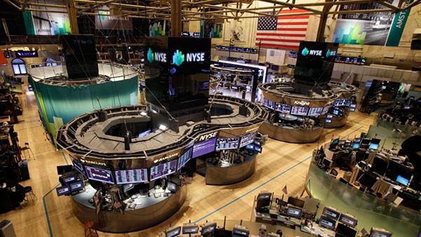 La Borsa di New York deserta per l'uragano Sandy