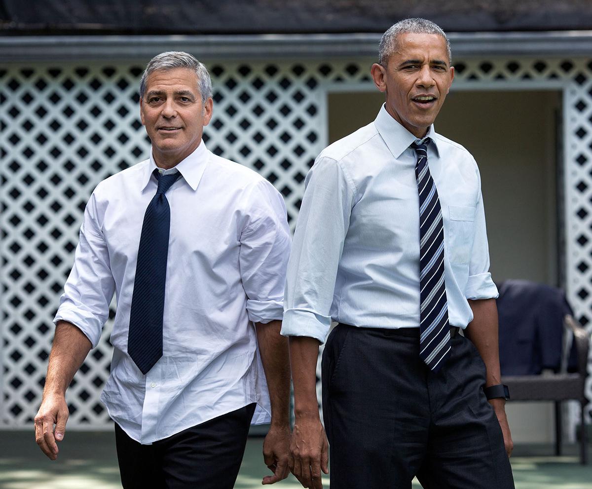 Obama con George Clooney