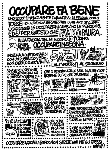 Il manifesto 'Occupare fa bene'