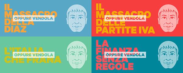 Manifesto della campagna di Vendola