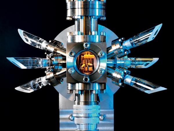 L'orologio atomico dello UK's National Physical Laboratory