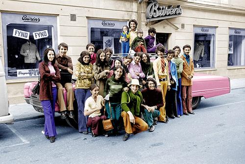 Osama bin Laden a Falun in Svezia nel 1971