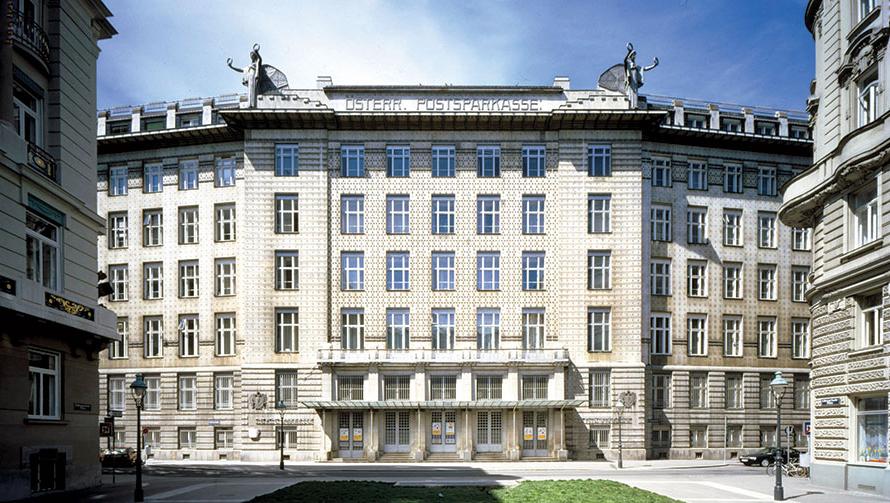 Osterreichische Postsparkasse a Vienna