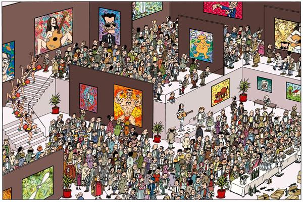 Una pagina di Où est Sarko?