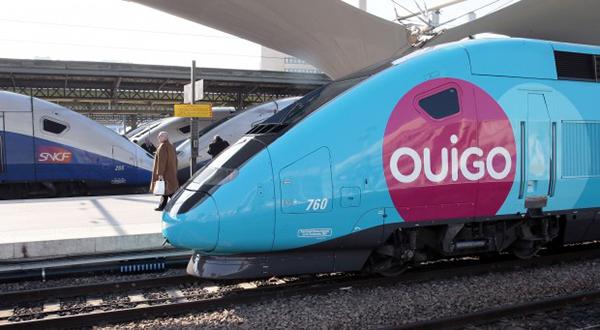 Il treno alta velocità Ouigo