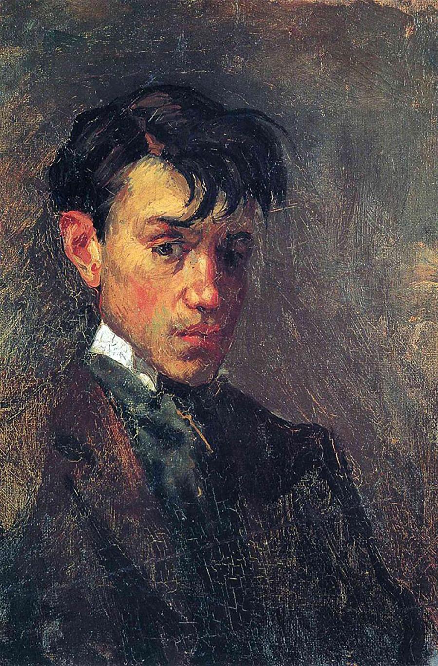 Pablo Picasso autoritratto a 15 anni