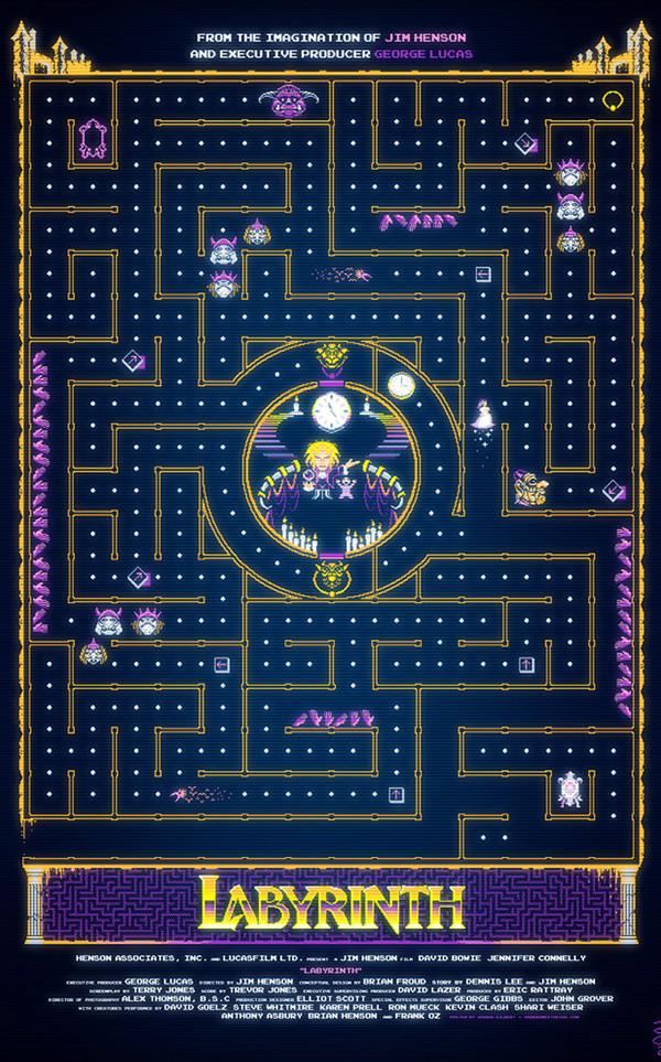 Il poster di Labyrinth