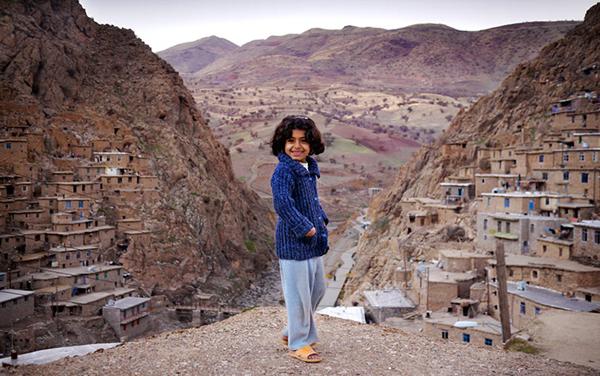 Il villaggio curdo di Palangan