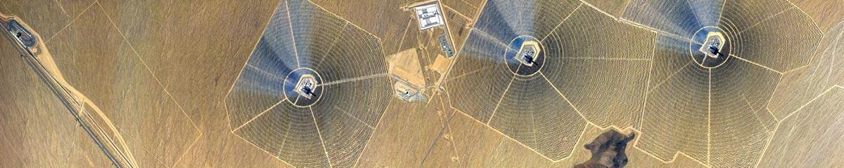 Una panoramica aerea scattata con un iPhone da Vincent Laforet