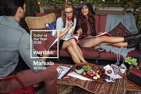 Il colore marsala per il 2015 secondo Pantone