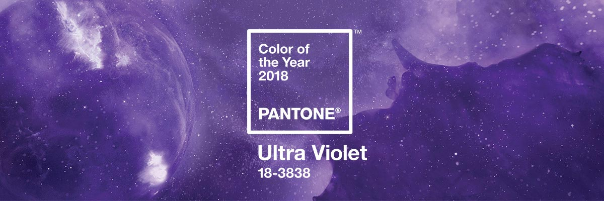 Ultra Violet, il colore del 2018 Pantone