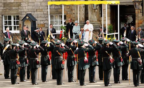 La visita papale nel Regno Unito