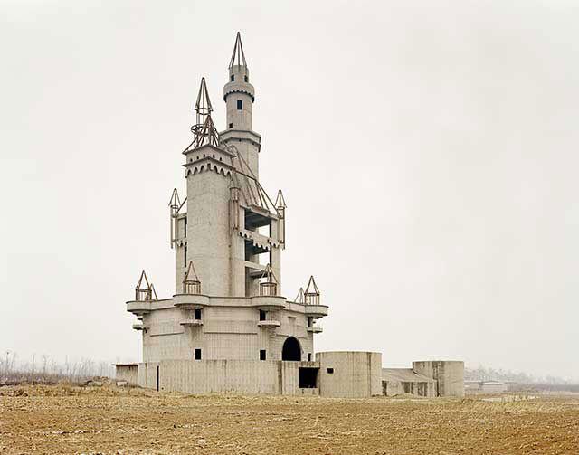 Parco di divertimenti abbandonato in Cina