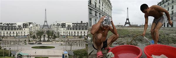 Parigi ricostruita in Cina