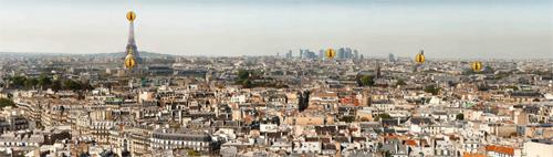 Parigi in alta risoluzione a 26 gigapixel