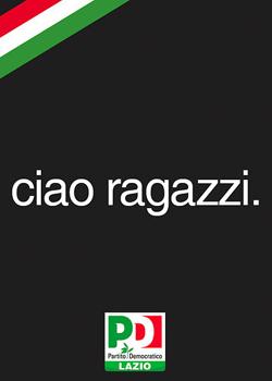 Manifesto del Partito Democratico del Lazio