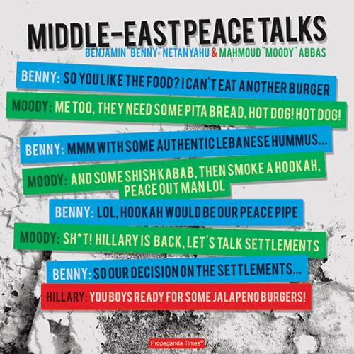 Il colloquio satirico tra Netanyahu, Abbas e Hillary Clinton