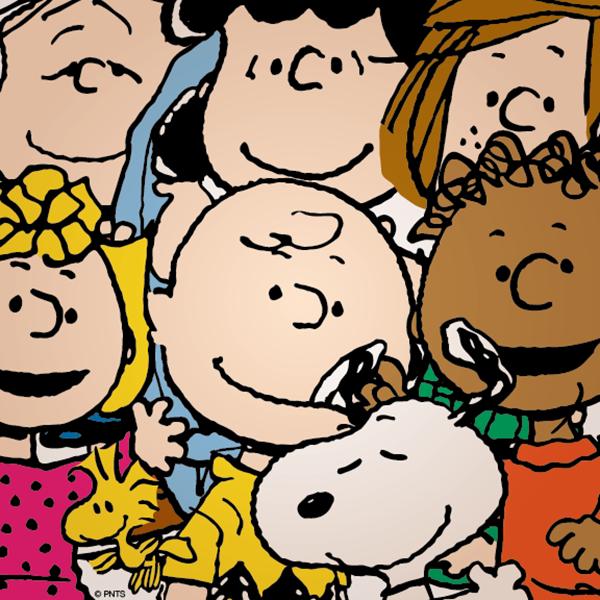 Il selfie parodia dei Peanuts