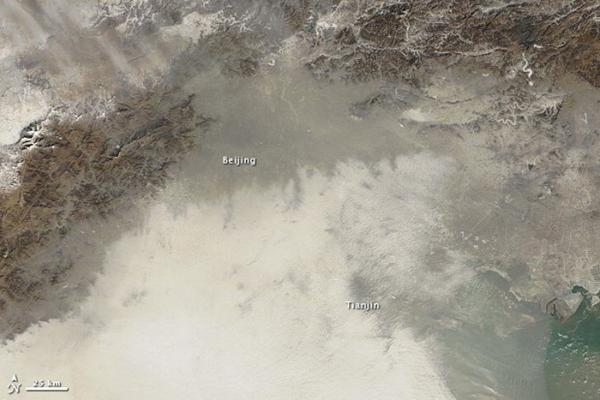 Inquinamento sopra Pechino