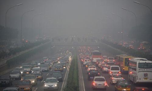 Lo smog a Pechino