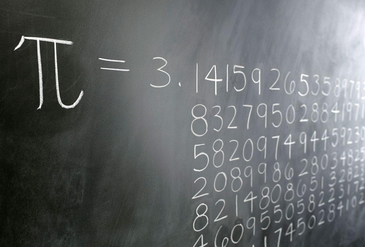 Le prime cifre decimali del Pi greco