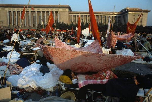 Piazza Tiananmen 1989