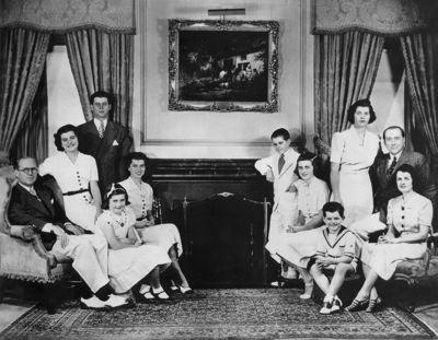 Foto di Berlusconi ritoccate - Famiglia Kennedy