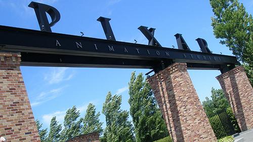 L'ingresso degli studio Pixar