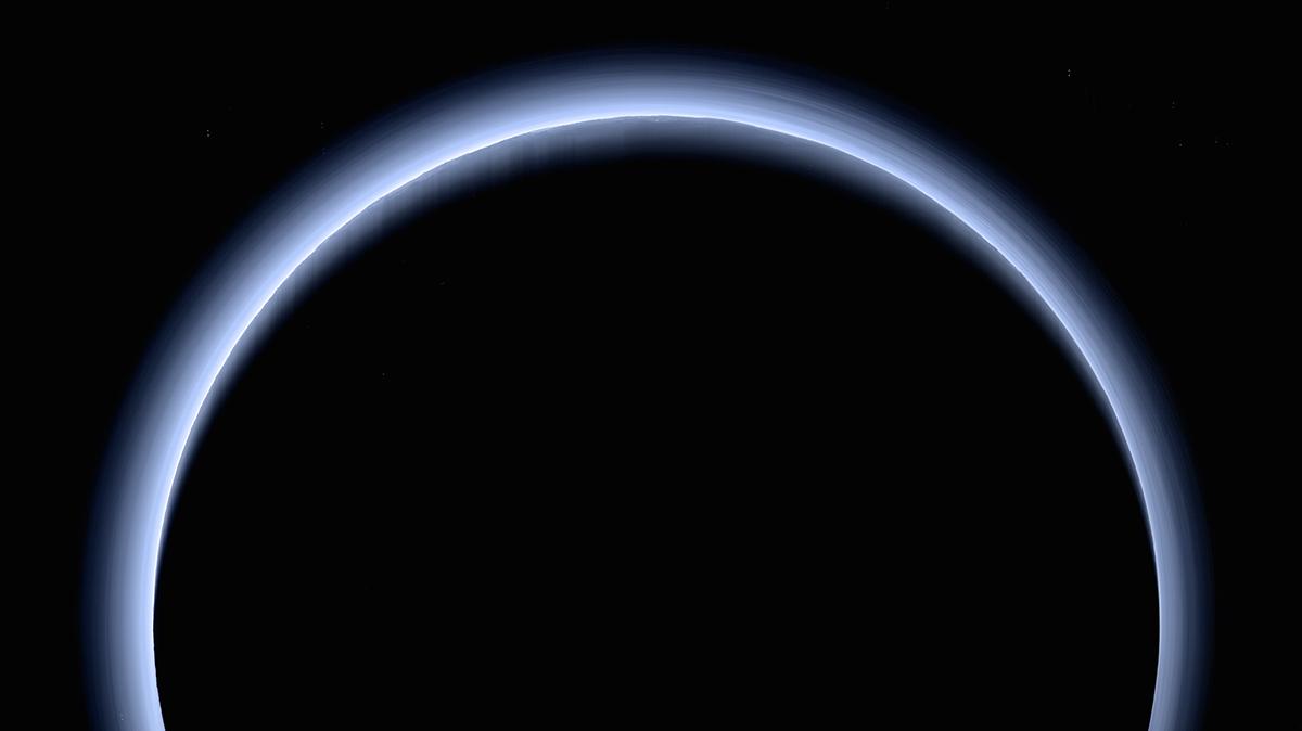 Plutone circondato dallo smog