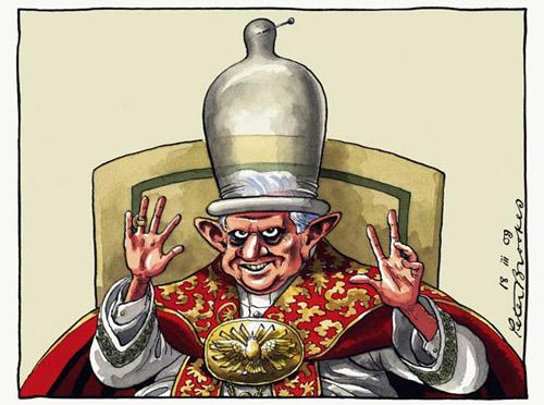 Vignetta sulle dichiarazioni del Papa in materia di contraccezione