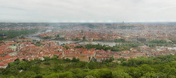 Praga a 34 gigapixel