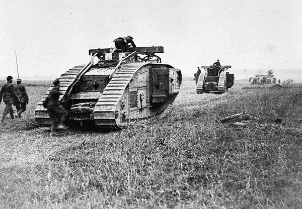 Carri armati della Prima Guerra Mondiale