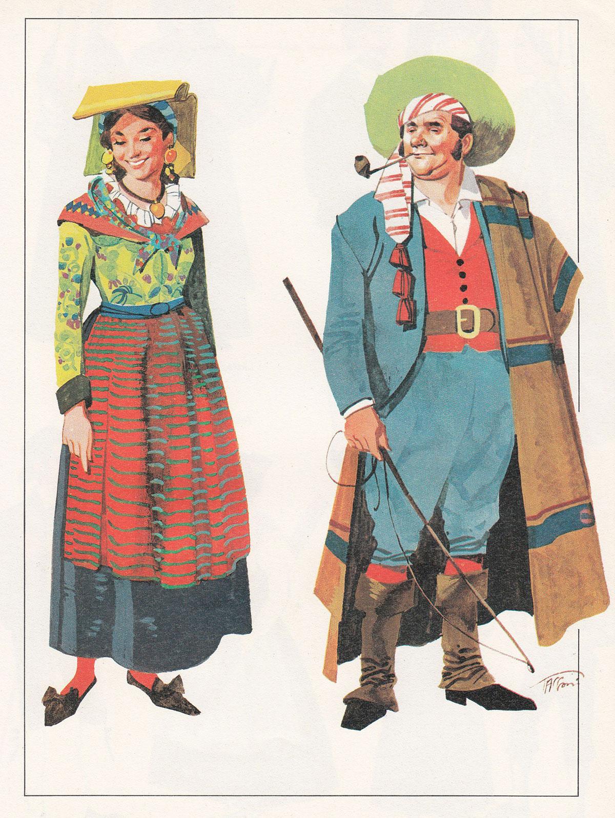 Abiti tradizionali liguri