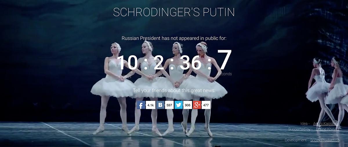 Screenshot di Schrodinger's Putin
