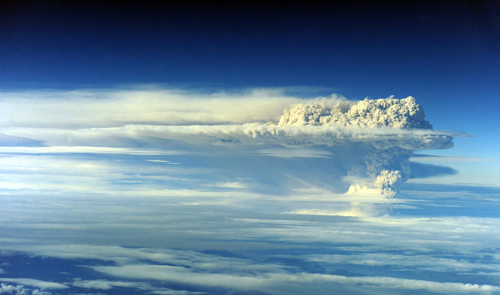 L'eruzione del vulcano Puyehue