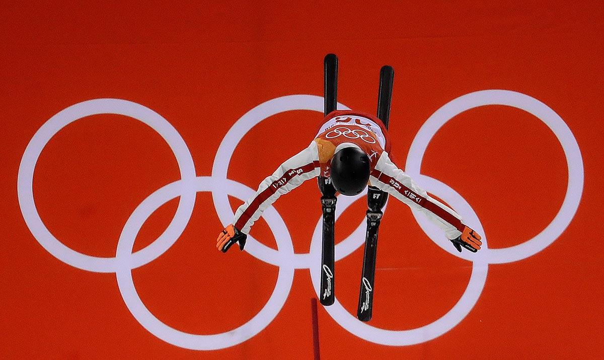 Il freestyler Mischa Gasser a PyeongChang 2018