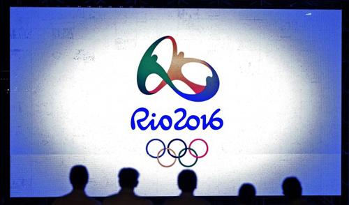 Il logo dei Giochi Olimpici di Rio de Janeiro 2016