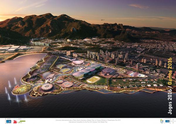 Il progetto del villaggio olimpico di Rio de Janeiro
