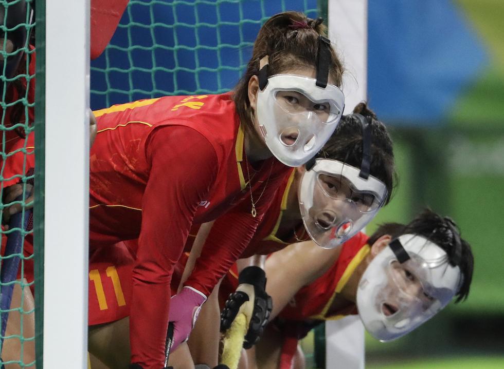 La Cina nell'hockey su prato ai Giochi Olimpici di Rio 2016