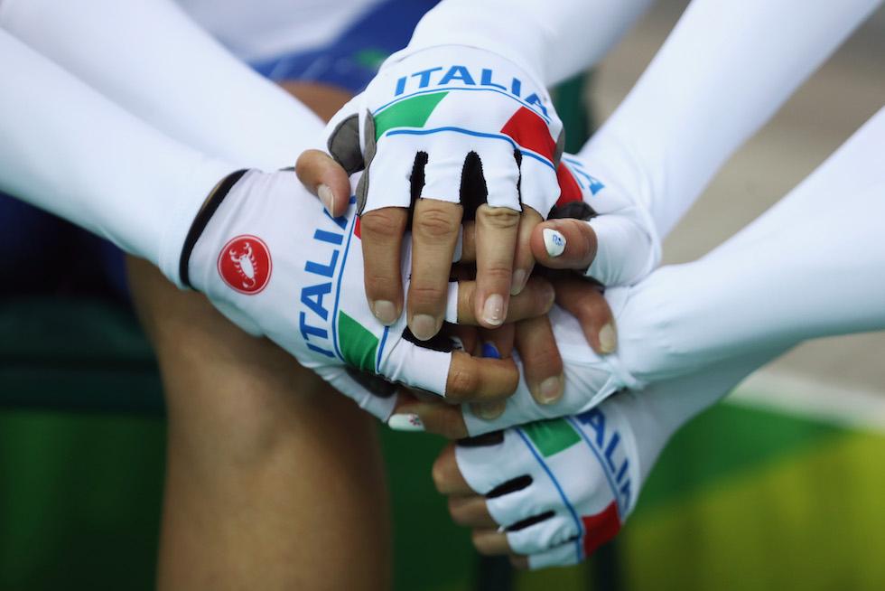 La nazionale italiana di ciclismo ai Giochi Olimpici di Rio 2016