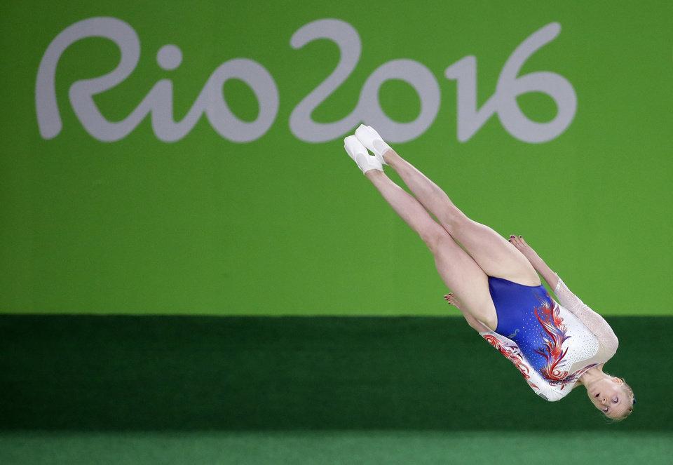 Nicole Ahsinger ai Giochi Olimpici di Rio 2016