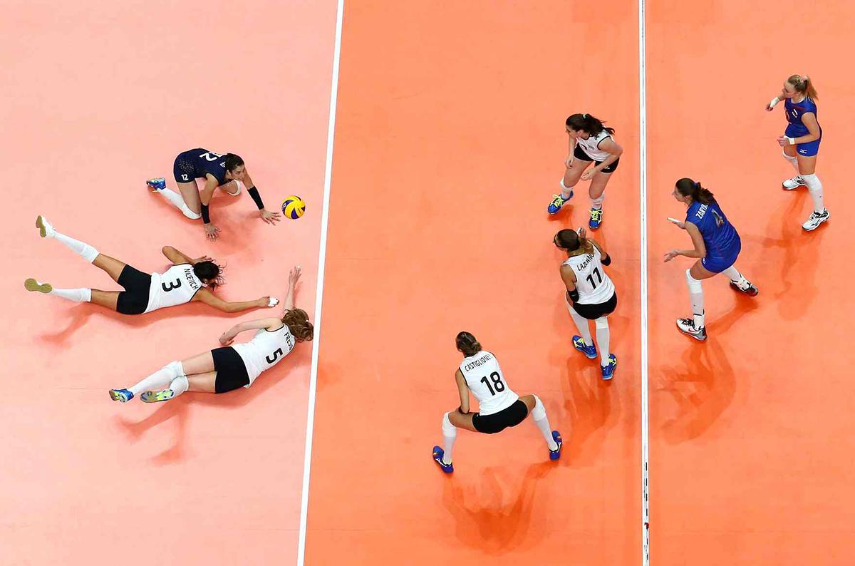 La squadra argentina di pallavolo a Rio 2016