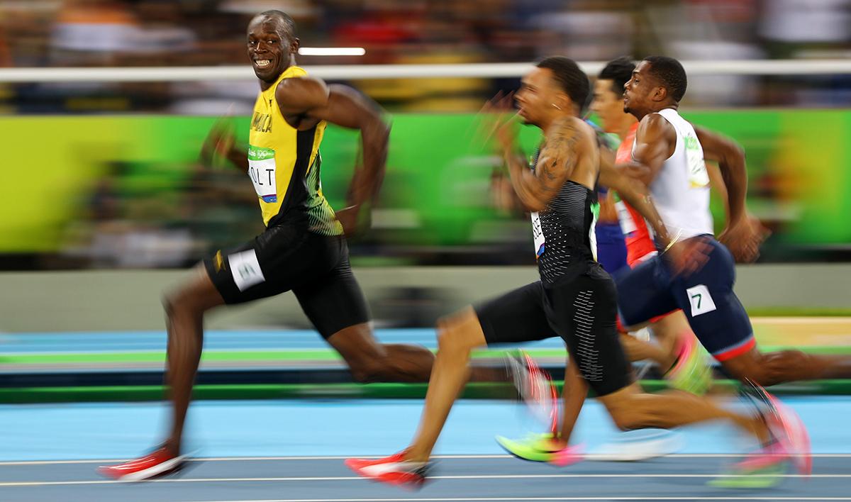 Usain Bolt ai Giochi Olimpici di Rio 2016