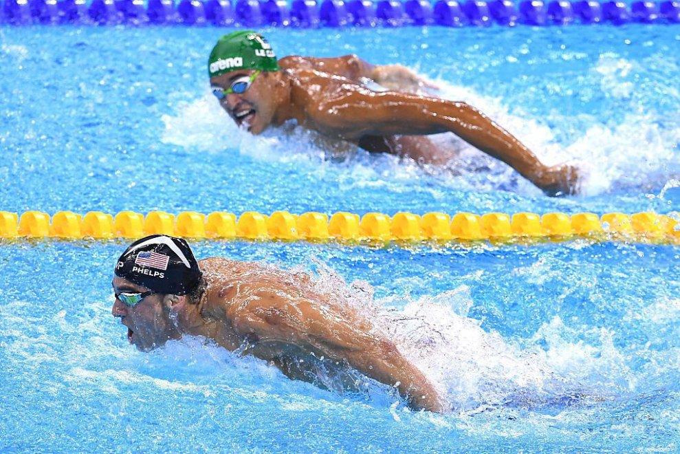 Michael Phelps ai Giochi Olimpici di Rio 2016