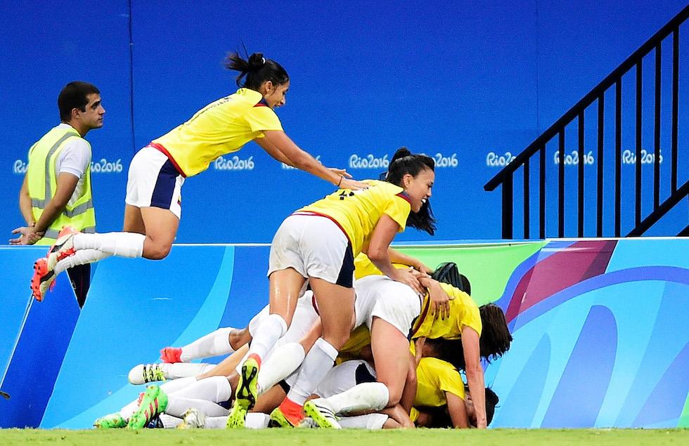 La Colombia ai Giochi Olimpici di Rio 2016